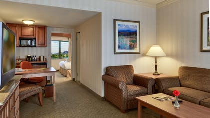 image2 .jpg | 2 Room Business Suite 1 King Bed with Breakfast | DoubleTree Suites by Hilton Hotel Phoenix