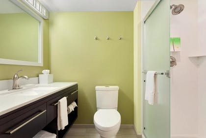 Suite Bathroom | 1 King Bed 1 Bedroom Suite | Home2 Suites by Hilton Pittsburgh / McCandless, PA