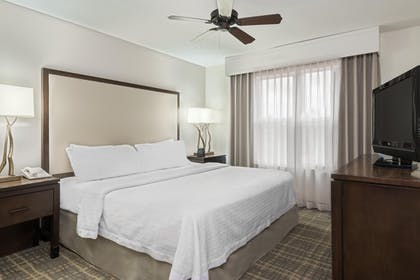 King Suite Bedroom | Homewood Suites Raleigh-Crabtree Valley