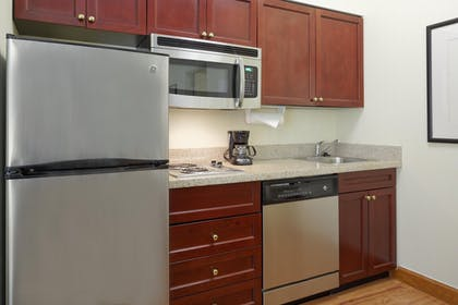King Suite Kitchen | Homewood Suites Raleigh-Crabtree Valley