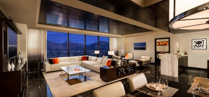 Living and Dining area | One Bedroom Luxury Suite  | Red Rock Casino, Resort and Spa