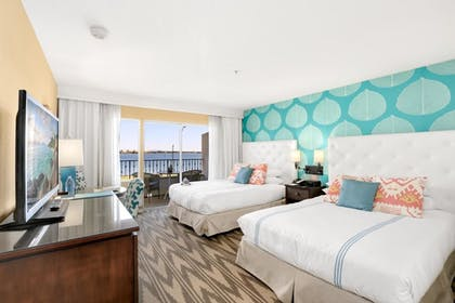 2 Queen Beds .jpg | Junior Suite, 2 Queen Beds, Marina View | Kona Kai Resort & Spa, A Noble House Resort