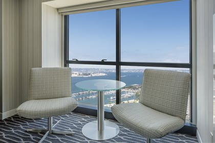 Double sitting area | Grand Suite - King Room | Manchester Grand Hyatt San Diego