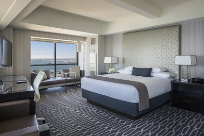 King bedroom | Grand Suite - King Room | Manchester Grand Hyatt San Diego