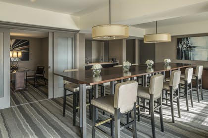 Dining area | Hospitality Suite - King Room | Manchester Grand Hyatt San Diego