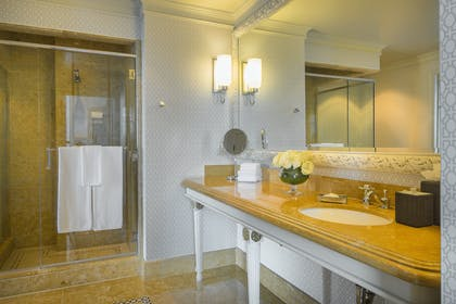 Penthouse Bathroom | Penthouse Suite + Double Room | Manchester Grand Hyatt San Diego