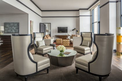 Living room | Presidential Suite | Manchester Grand Hyatt San Diego