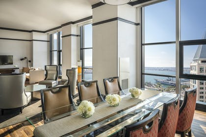 Dining area | Presidential Suite + Double Room | Manchester Grand Hyatt San Diego