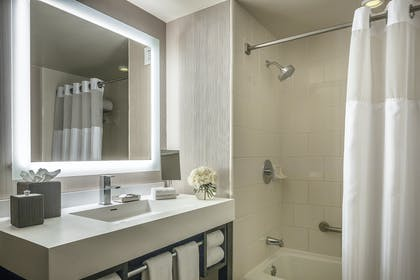 Double room bathroom | Presidential Suite + Double Room | Manchester Grand Hyatt San Diego