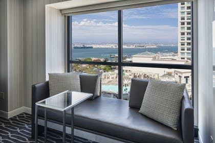 Bedroom sitting area | Signature Suite | King Room | Manchester Grand Hyatt San Diego