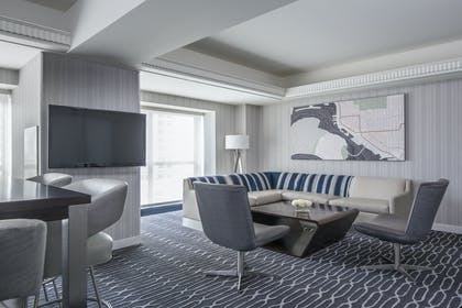 Living area | Signature Suite | King Room | Manchester Grand Hyatt San Diego