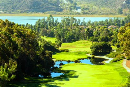 Aviara Golf - 8th Hole & Lagoon | Park Hyatt Aviara Resort, Spa & Golf Club