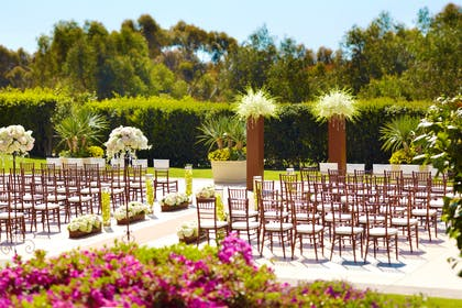 Wedding - Palm Courtyard | Park Hyatt Aviara Resort, Spa & Golf Club