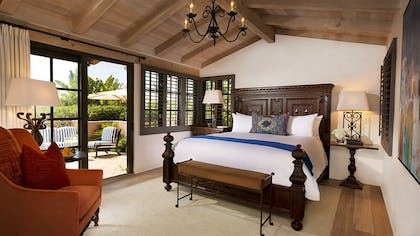 Bedroom | Palm Suite | Rancho Valencia Resort and Spa