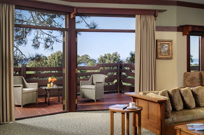 Balcony | Blacker Suite + Palisade Queen | The Lodge at Torrey Pines