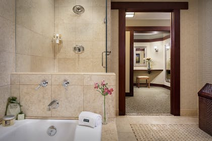 Bathroom | Blacker Suite + Palisade Queen | The Lodge at Torrey Pines
