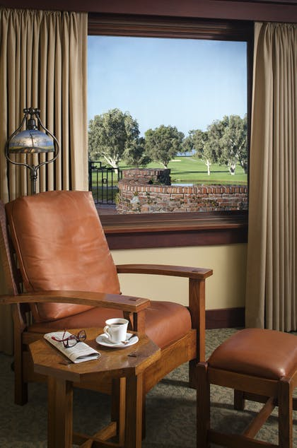 Golf course view | Robinson Room | The Lodge at Torrey Pines