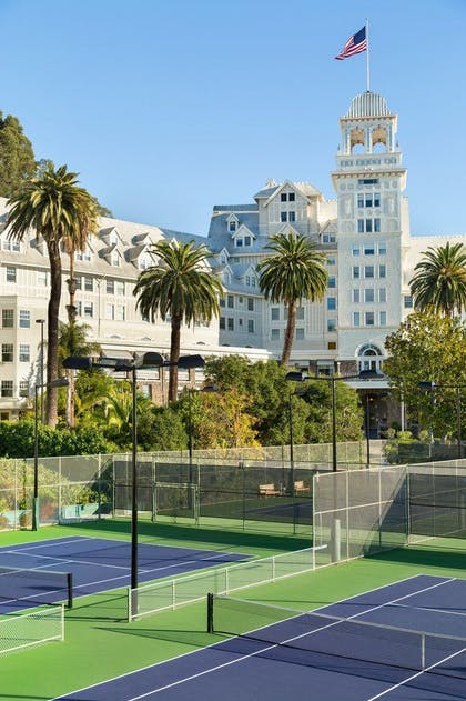 Tennis Court | Claremont Club & Spa, A Fairmont Hotel