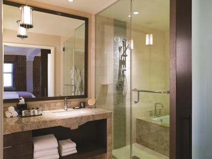 Bathroom | One Bedroom Residence | Fairmont Heritage Place, Ghirardelli Square
