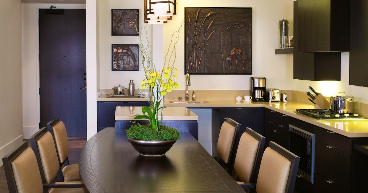 Two bedroom residence at fairmont heritage place - Two bedroom suites san francisco ...