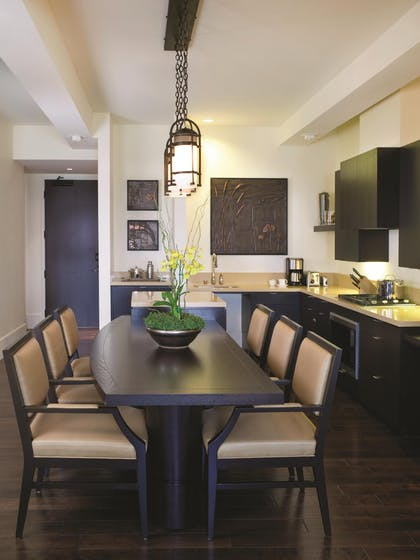 Dining Room | Two Bedroom City View Residence | Fairmont Heritage Place, Ghirardelli Square