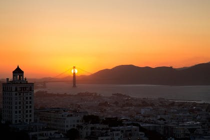 San Francisco Bay Sunset View | Fairmont San Francisco