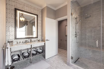 Master Bathroom | Napoleon Two-Bedroom Suite | Fairmont San Francisco