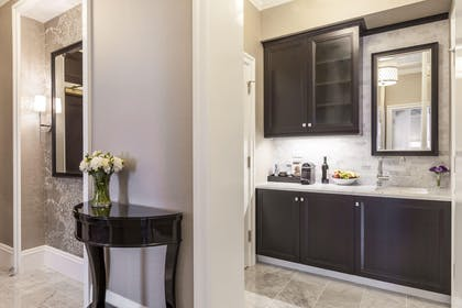 Pantry | Napoleon Two-Bedroom Suite | Fairmont San Francisco