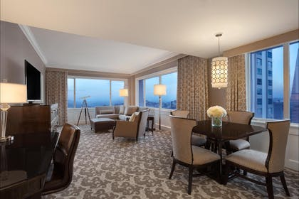 Living Room 2 | Tower Suite | Fairmont San Francisco