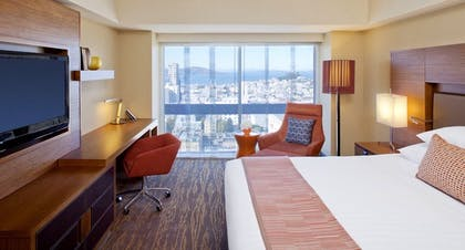 Bedroom | Executive Suite City View + Standard King | Grand Hyatt San Francisco