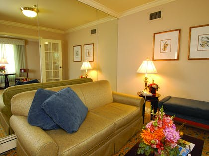 Living Room | Opera Suite | Inn at the Opera
