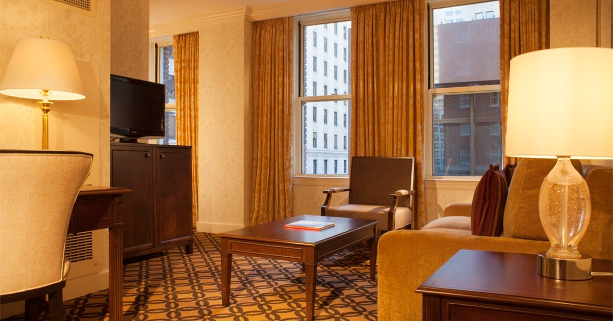 California suite premier 2 doubles at omni san francisco - 2 bedroom hotels in san francisco ...