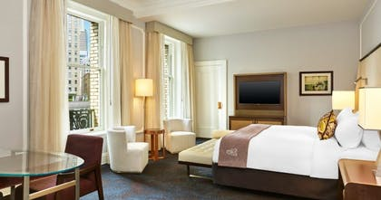Bedroom | Palace King Suite + Grand Deluxe King | Palace Hotel
