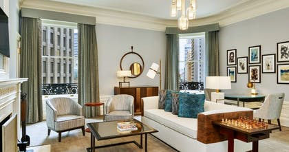 Living Room | Palace King Suite + Grand Deluxe King | Palace Hotel