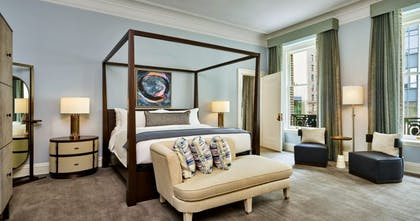 Palace King Bedroom | Palace King Suite + Grand Deluxe King | Palace Hotel