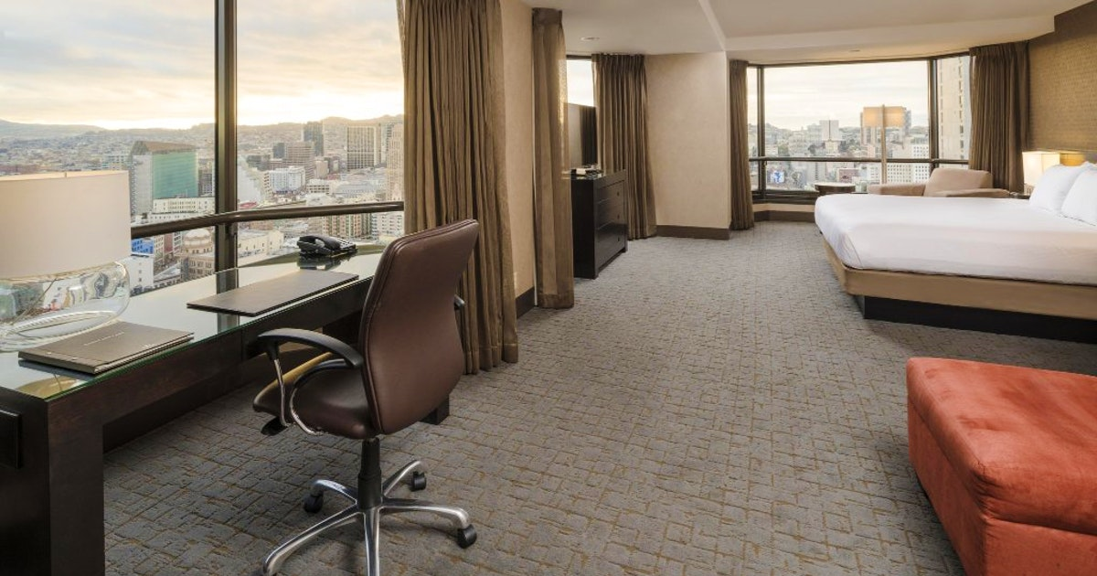 Sunset Suite 1 Bedroom Floors 30 32 At Parc 55 San Francisco Suiteness More Bedrooms At