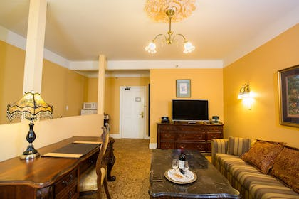 Living area | Royal Family Suite | Queen Anne Hotel