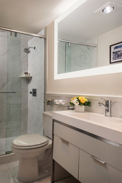 Bathroom | Superior King Suite | The Inn at Union Square