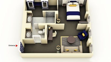 Floor Plan | Grand Suite | Warwick San Francisco