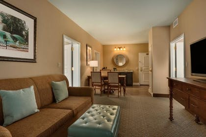 Living Area | 2 Room Suite - 2 Queen Beds - Non Smoking | Embassy Suites by Hilton Hotel Savannah