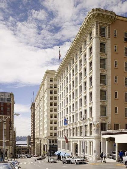 Exterior. | The Arctic Club Seattle - a DoubleTree by Hilton