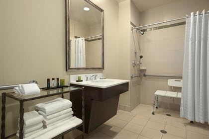 Bathroom | 2 Room Suite - 2 Queen Beds - Non-smoking | Embassy Suites by Hilton St. Louis Downtown