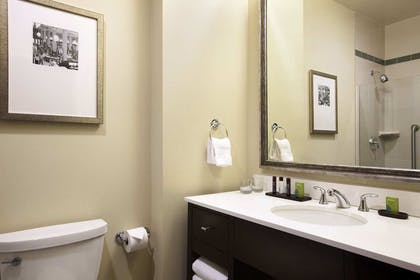 Bathroom | 2 Room Premium Suite - 1 King Bed - Non-smoking | Embassy Suites by Hilton St. Louis Downtown