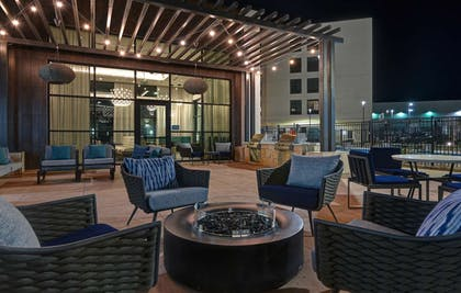 Outdoor Seating | Homewood Suites by Hilton Dallas The Colony