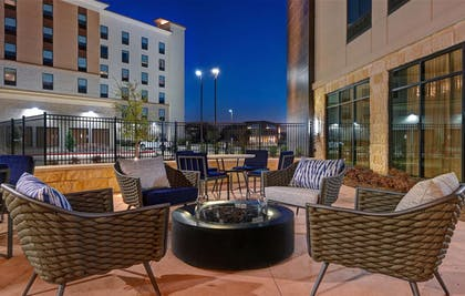 Fire Pit | Homewood Suites by Hilton Dallas The Colony