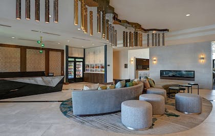 Front Desk Seating | Homewood Suites by Hilton Dallas The Colony
