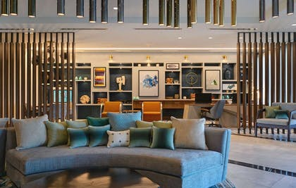 Lobby Seating | Homewood Suites by Hilton Dallas The Colony