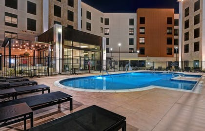 Outdoor Pool | Homewood Suites by Hilton Dallas The Colony