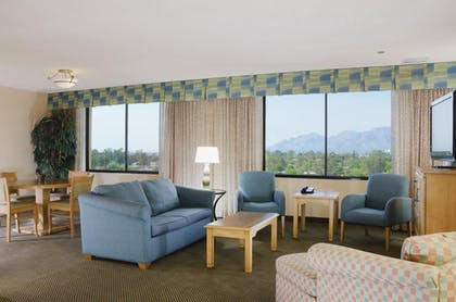TUSBTDT_Presidential_S.jpg | 1 King Bed 2 Room Presidential Suite Non-smoking | DoubleTree by Hilton Hotel Tucson - Reid Park