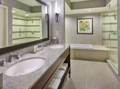 bathroom-jpg.jpg | Presidential Suite Balcony - 1 King Bed + One Bedroom Balcony Suite | DoubleTree by Hilton Hotel Washington DC - Crystal City